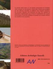 Les premières villes de Gaule ; le temps des oppida - 4ème de couverture - Format classique