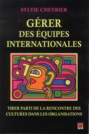 Gerer des equipes internationales - Couverture - Format classique