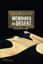 Mémoires du désert ; à l'autre bout du monde - Couverture - Format classique