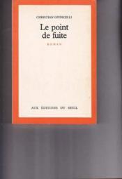 Point De Fuite (Le) - Couverture - Format classique