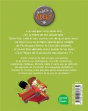 Mortelle Adèle T.5 ; poussez-vous les moches ! - 4ème de couverture - Format classique