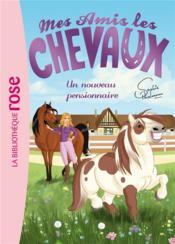 Mes amis les chevaux T.1 ; un nouveau pensionnaire - Couverture - Format classique