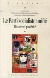 Parti socialiste unifie - Couverture - Format classique