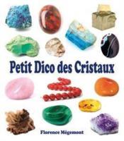 Petit dico des cristaux - Couverture - Format classique
