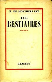 Les Bestiaires. - Couverture - Format classique