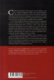 Les héritiers du milieu ; au coeur du grand banditisme de la Corse à Paris - 4ème de couverture - Format classique