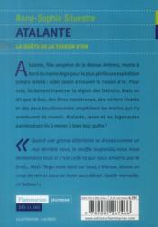 Atalante t.1 ; la quête de la toison d'or - 4ème de couverture - Format classique