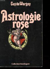 Astrologie Rose - Couverture - Format classique