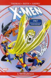 X-Men ; INTEGRALE VOL.17 ; 1967 - Couverture - Format classique