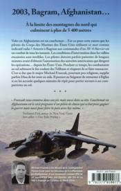 Cauchemar en Afghanistan - 4ème de couverture - Format classique