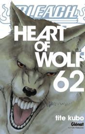 Bleach T.62 ; heart of wolf - Couverture - Format classique