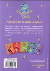 Cupcake girls T.5 ; Katie met les bouchées doubles - 4ème de couverture - Format classique