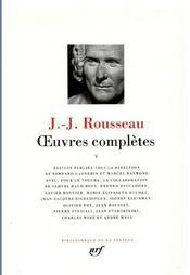 Oeuvres completes (tome 5-ecrits sur la musique, la langue et le theatre) - Intérieur - Format classique