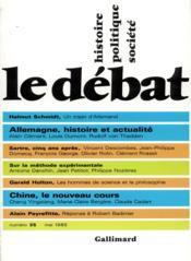 Revue Le Débat N.35 - Couverture - Format classique