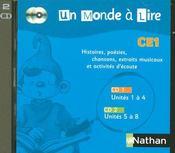 Lecture ; CE1 ; 2 CD audio (édition 2007) - Intérieur - Format classique