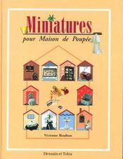 Miniatures Pour Maison De Poupees - Intérieur - Format classique