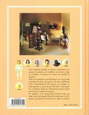 Miniatures Pour Maison De Poupees - 4ème de couverture - Format classique