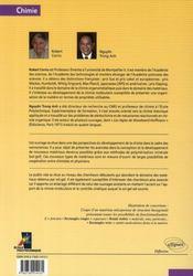 Chimie moleculaire sol-gel et nanomateriaux - 4ème de couverture - Format classique