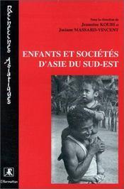 Enfants et sociétés d'Asie du sud-est - Intérieur - Format classique