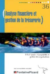 Analyse Financiere Et Gestion De La Tresorerie Bts2 Cgo - Couverture - Format classique