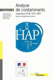 Analyse de contaminants organiques (PCB, OCP, HAP) dans les organismes marins - Couverture - Format classique