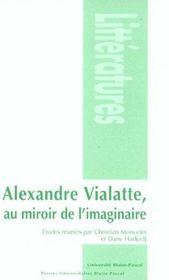Alexandre Vialatte, Au Miroir De L'Imaginaire - Intérieur - Format classique