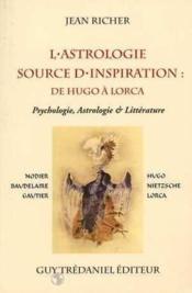 Astrologie, Source D'Inspiration - Couverture - Format classique