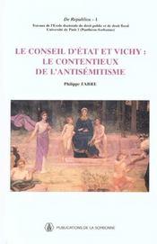 Conseil D Etat Et Vichy - Intérieur - Format classique