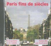 Paris fins de siécles - Intérieur - Format classique