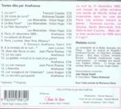 Paris fins de siécles - 4ème de couverture - Format classique