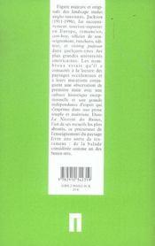 De la nécessité des ruines et autres sujets - 4ème de couverture - Format classique