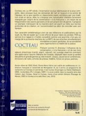 Cocteau ; entre écriture et conversation - 4ème de couverture - Format classique