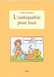 L'ostéopathie pour tous - Couverture - Format classique