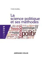 La science politique et ses méthodes - Couverture - Format classique