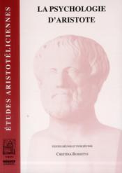 La psychologie d'Aristote - Couverture - Format classique