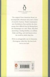 The Adventures of Huckleberry Finn - 4ème de couverture - Format classique
