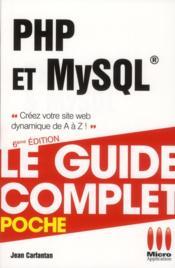 PHP et MySQL (6e édition) - Couverture - Format classique