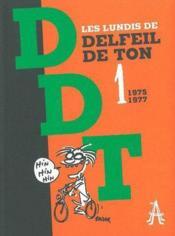 Les lundis t.1 ; 1975-1977 - Couverture - Format classique