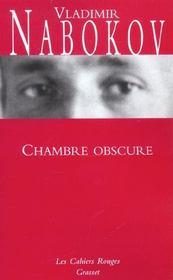Chambre obscure - Intérieur - Format classique