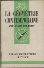 La geometrie contemporaine - Couverture - Format classique