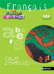 EN TOUTES LETTRES ; français ; CE2 ; cahier d'activités - Couverture - Format classique