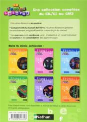 EN TOUTES LETTRES ; français ; CE2 ; cahier d'activités - 4ème de couverture - Format classique