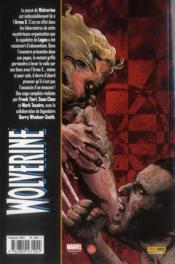 Wolverine t.3 - 4ème de couverture - Format classique