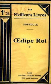 Oedipe Roi - Couverture - Format classique