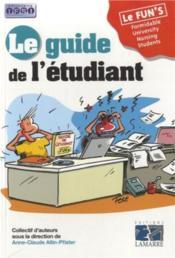 Le guide de l'étudiant IFSI - Couverture - Format classique