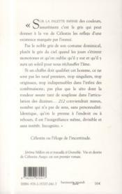 Vie et destin de Célestin Arepo - 4ème de couverture - Format classique