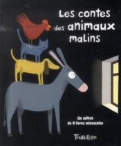Les contes des animaux malins ; coffret - Couverture - Format classique