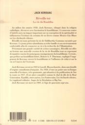 Réveille-toi ; la vie du Bouddha - 4ème de couverture - Format classique