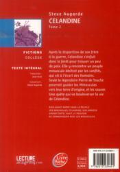 Celandine - 4ème de couverture - Format classique