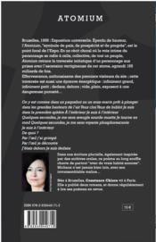Atomium - 4ème de couverture - Format classique